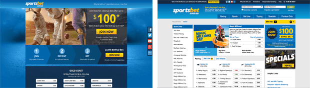 sportsbet online betting bookmaker review
