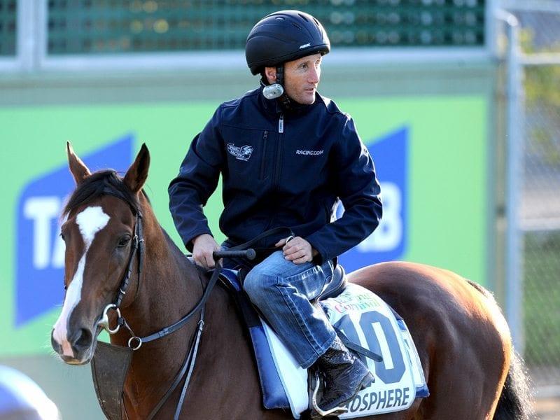 Oliver happier after Exospheric gallop