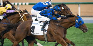 Winterbottom Stakes won by buffering