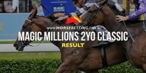 Magic Millions 2YO result