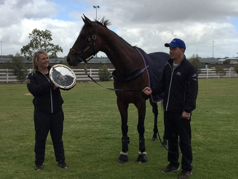 Two-time Cox Plate champion Winx