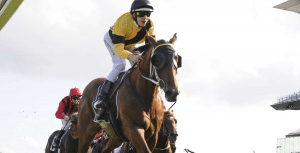 The Mission wins the Champagne Stakes