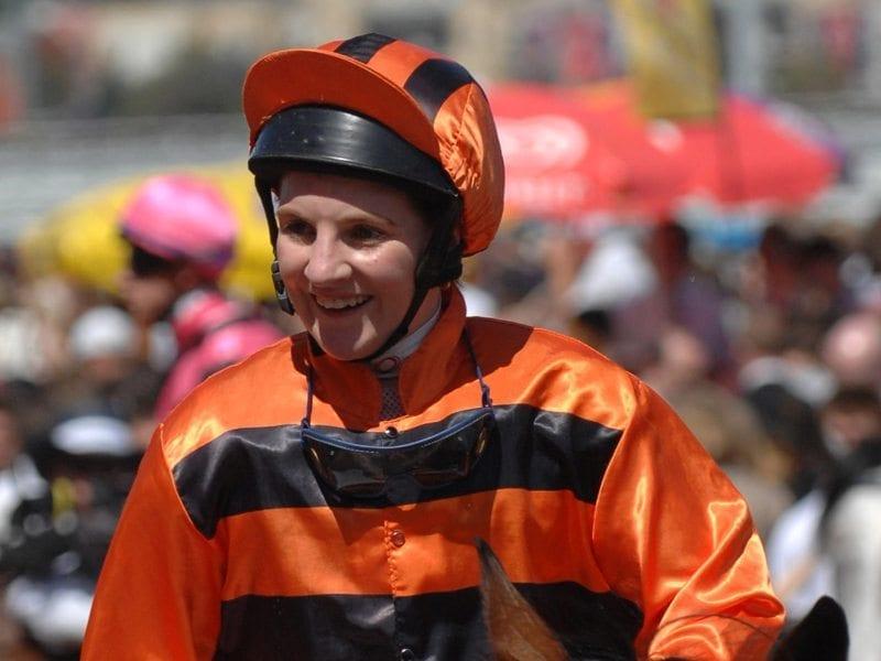 Jockey Nikita Beriman