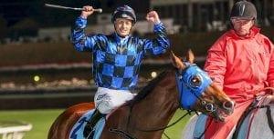 Browne rides Buffering to 2013 Manikato Stakes win