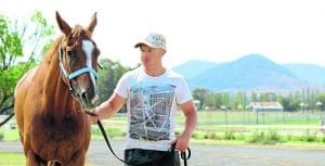 Mudgee horse trainer Cameron Crockett