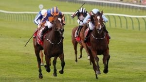 Roly Poly wins G1 Falmouth Stakes