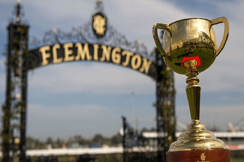 Melbourne Cup at Flemington Racecourse