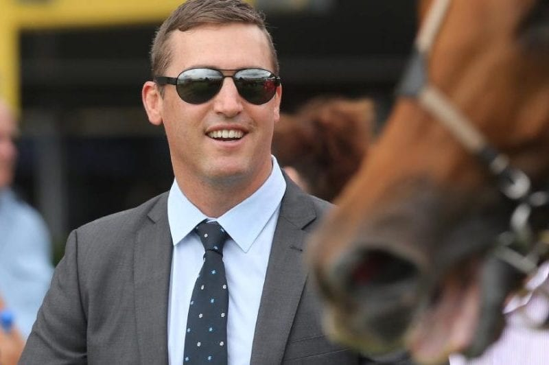 Horse trainer Tony Gollan