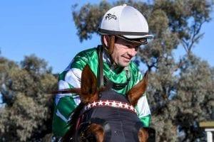 Jockey Dean Yendall at Mildura