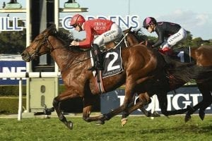 Gold Symphony wins Civic Stakes