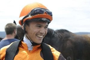 Apprentice jockey Matt McGillivray at Goulburn