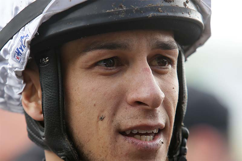 Jockey Troy Harris