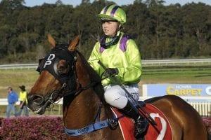 Jockey Winona Costin at Nowra