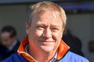 Horse trainer Tony McEvoy