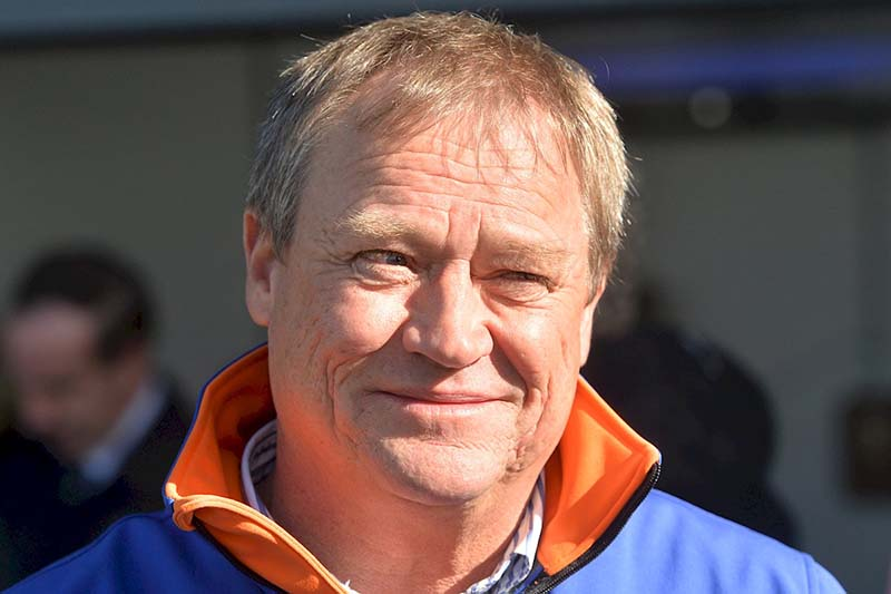 Horse trainer Tony McEvoy