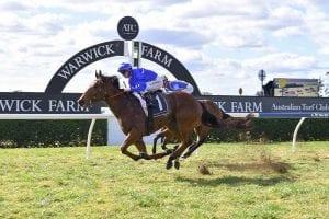 Alizee breaks its maiden on Wednesday