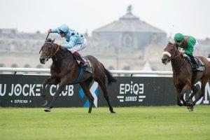 Champion European horse Almanzor