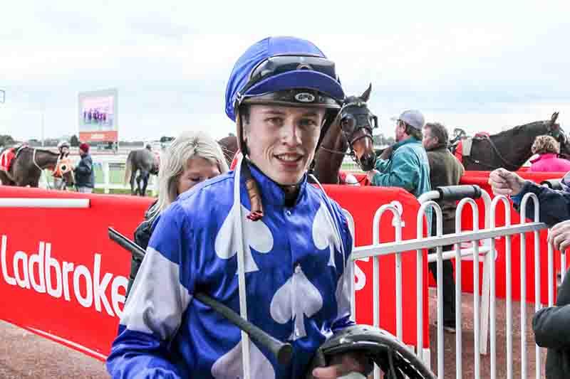 Apprentice jockey Ben Allen