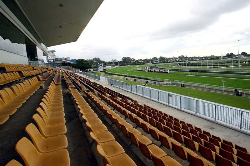 Doomben racecourse in Brisbane, Queensland