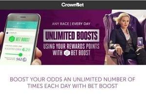 CrownBet promos