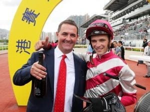 Michael Freedman trains HK double