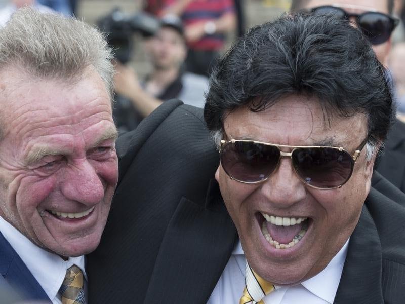 Gerald Ryan and Bert Vieira