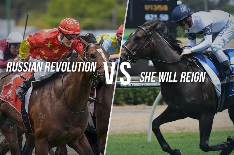 Russian Revolution vs. She Will Reign