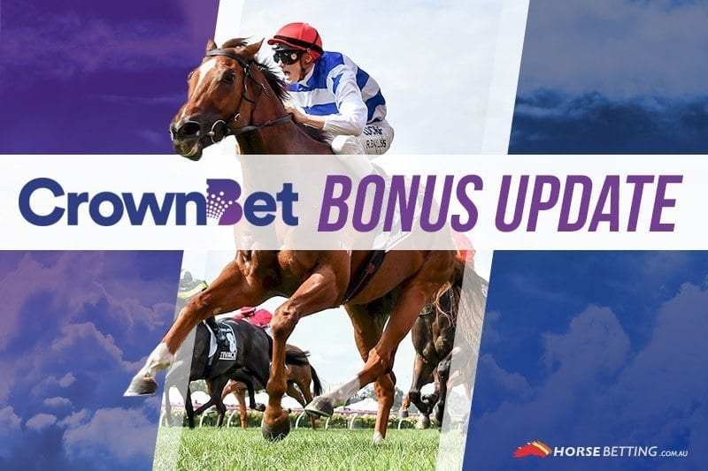 CrownBet bonus update