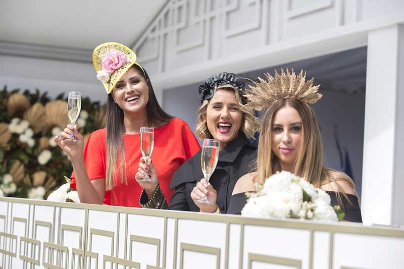 weather and fashion at Melbourne cup