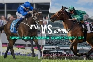 Winx vs Humidor in Turnbull Stakes