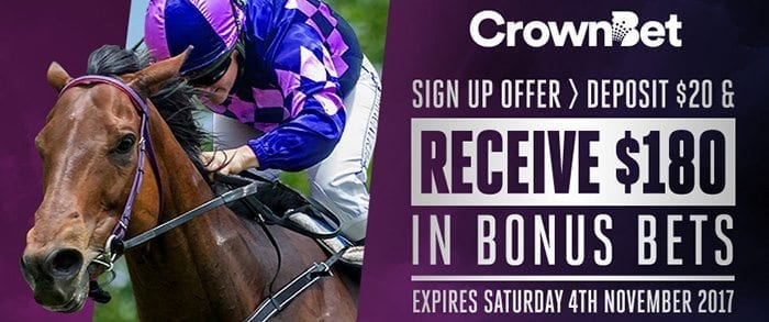 CrownBet $20 for $180 offer