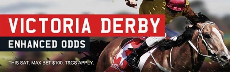Victoria Derby enhanced odds