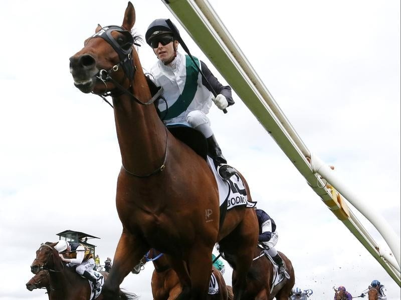 Caulfield Cup winner Boom Time will race in the Japan Cup.