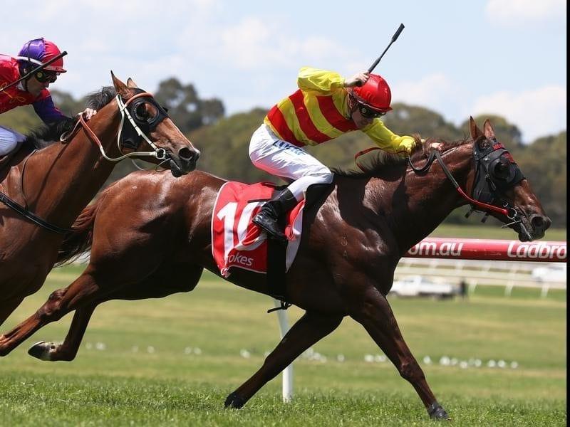 Ben Melham rides Bugari to victory