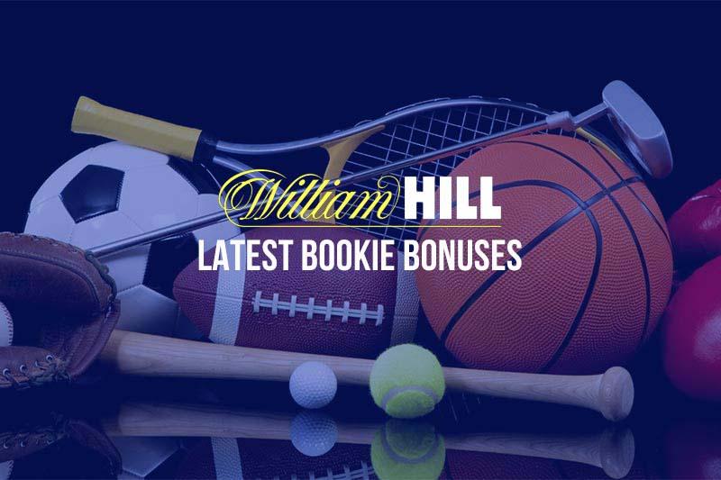 William Hill racing bonuses