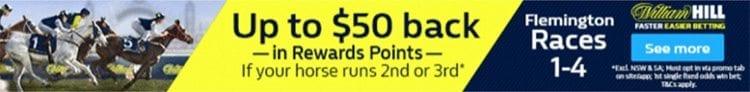William Hill rewards points offer