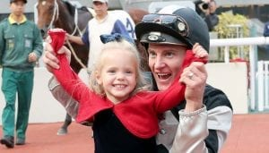 Zac Purton & daughter Roxy