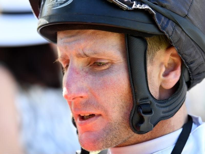 Melbourne jockey Brad Rawiller.