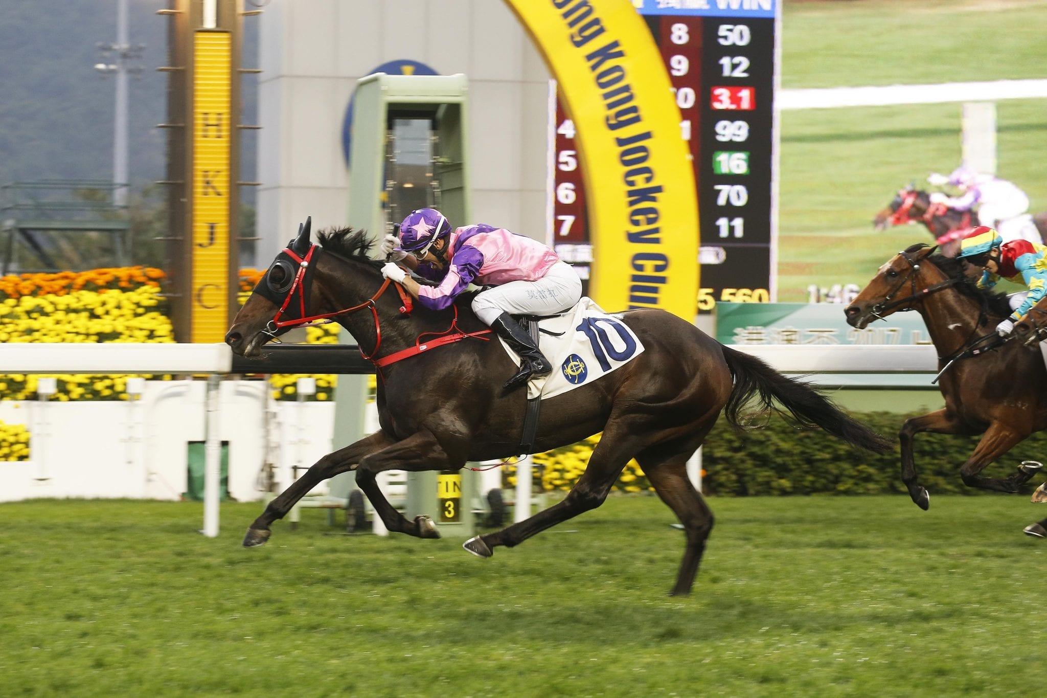 Prawn Baba winning in Hong Kong