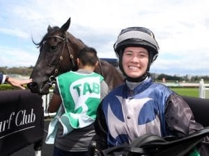 Jess Taylor rides Kawaikini to win at Randwick for Jason Coyle