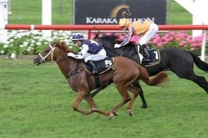 Scott Base winning the Karaka 3yo Classic