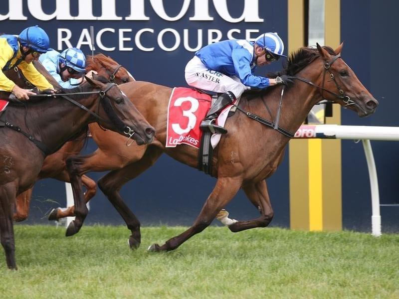 Enbihaar stakes a Blue Diamond claim.