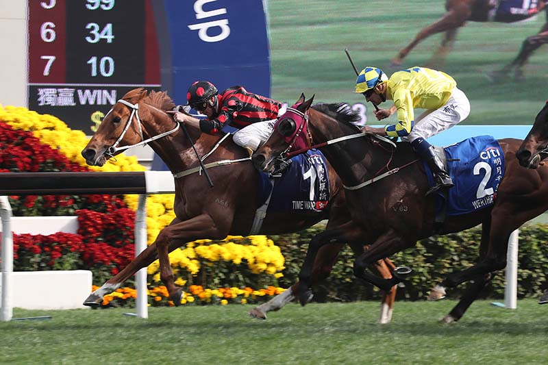 Time Warp wins Hong Kong Gold Cup
