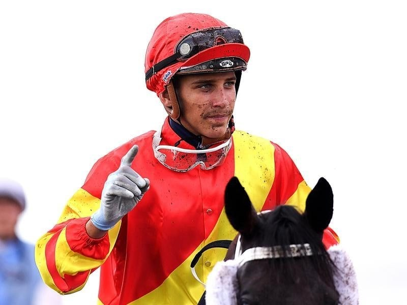 Jockey Jag Guthmann-Chester.