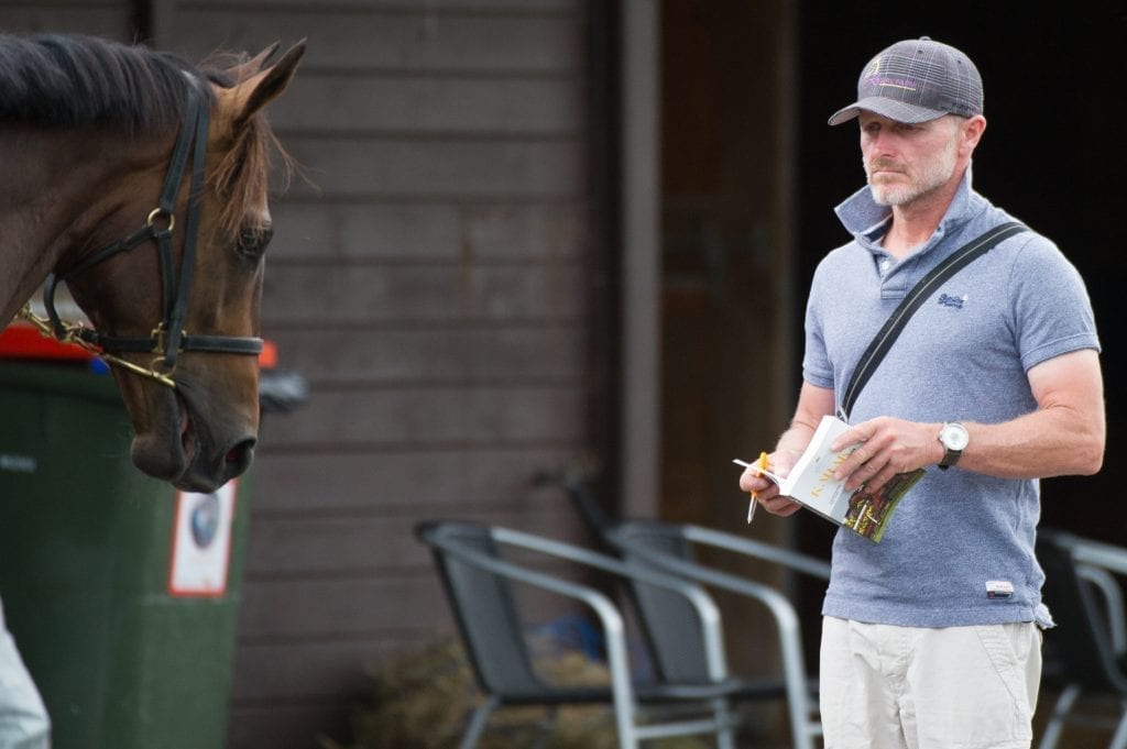 NZ horse trainer Shane Crawford