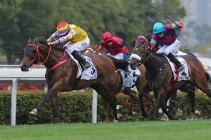 Ping Hair Star wins Hong Kong Derby