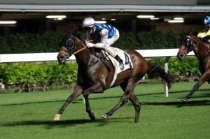 Gibson honours late Columb after Right's victory at Happy Valley