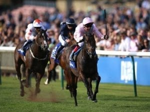Too Darn Hot wins G1 Dewhurst Stakes