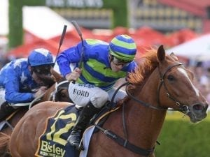 Big Blue gets the jump on St Leger rivals