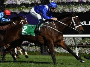 Winx roars home to capture Turnbull Stakes